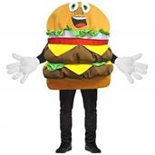 Cheeseburger Mascot Costume
