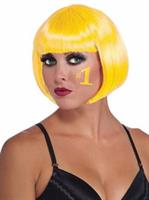 Womens Yellow Bob Wig