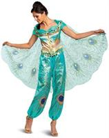 Jasmine Teal Deluxe Adult Costume