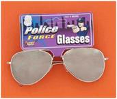 Police Mirrored Glasses