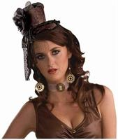 Steampunk Headband Hat-Brown