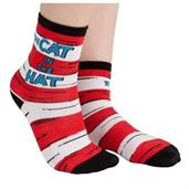 Cat in the Hat Crew Socks