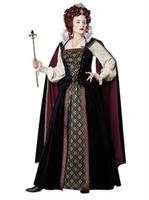 Womens Elizabethan Queen Costume
