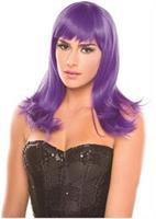Solid Color Hollywood Wig