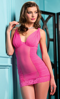 Two Piece chemise with a matching thong.