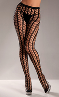 Nylon Seamless Warning Net Pantyhose