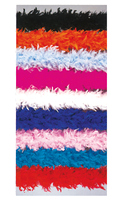 70 Gram Feather Boa, 6Ft Solid Color