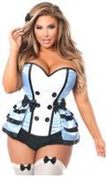 Lavish 4 PC Flirty Alice Corset Costume