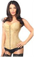 Lavish Gold Brocade Corset