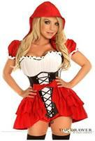Top Drawer 3 PC Red Riding Hood Costume