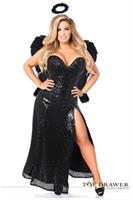Top Drawer Premium Dark Angel Corset Costume