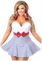 Top Drawer Kansas Girl Corset Dress