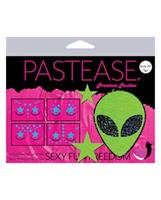 Pastease Body Set Glitter Alien  - Green