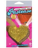 Pastease Gold Glitter Heart