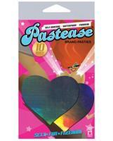 Pastease Hologram Heart - Silver