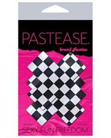Pastease Checker Cross - Black/White