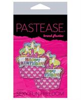Pastease Happy Birthday Cupcake - Multicolor