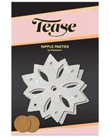 Pastease Glitter Snow Flake - White