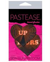 Pastease Up Yours Heart - Black/Red