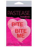 Pastease Bite Me Heart - Pink/Red