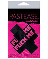 Pastease Fuck Me Plus - Black/Pink