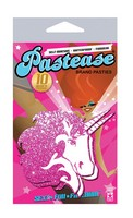 Pastease Unicorn Hot Pink Glitter on White O/S