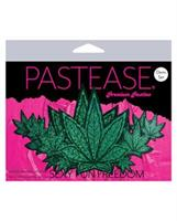 Pastease Demis Glitter Leaf - Green
