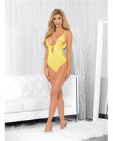 Mesh and Lace Teddy Lemonade