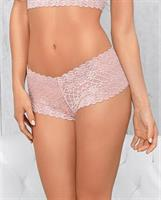 Lace Boy Shorts Soft Pink