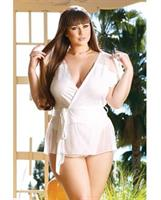 Premiere Soft Micro Bed Jacket and Panty White