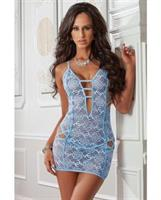 Cheeky Strappy Night Dress Bluejay