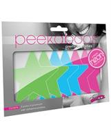 Peekaboos Neon Stars Pack of 3