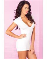 Seamless Mini White Dress