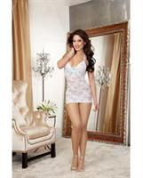 Stretch Lace T-Back Chemise