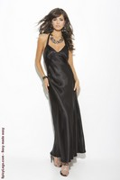 Charmeuse Satin Gown in Plus Size