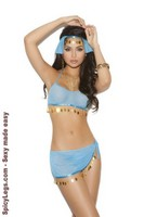 Harem Hottie top and skirt set