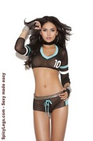 Football Fantasy top and shorts