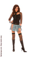 5 pc. Bad Girl Costume