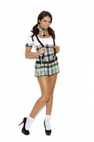 Prep School Priss Costume