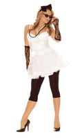6 pc 80's Rock Star Costume