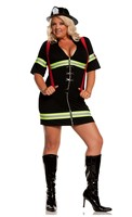 Ms. Blazin' Hot-2 pc. Costume includes dress and belt with attached suspenders