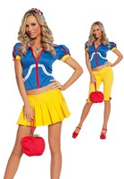 5 pc Poison Apple Princess Costume