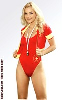 Ocean View Life Guard Costume