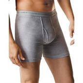 Hanes Men's Boxer Brief with Comfort Flex Waistband Black/Grey Assorted 7-Pack