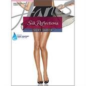 Hanes Silk Reflections Sheer Toe Pantyhose