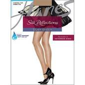 Hanes Silk Reflections Control Top Sheer Toe Pantyhose