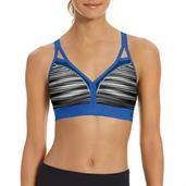 Champion Women Curvy Strappy Sports Bra - Print