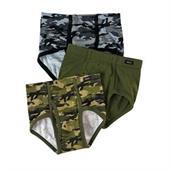 Boys' Hanes Ultimate Brief with ComfortSoft Waistband Assorted 3-Pack
