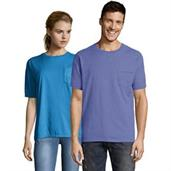 Hanes Men's ComfortWash Garment Dyed Short Sleeve Pocket Tee