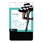 Hanes X-Temp Sheer Control Top Tights with Comfort Waistband